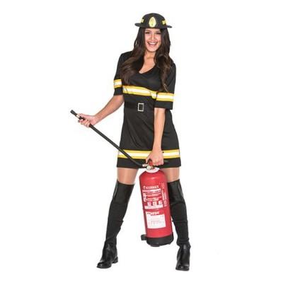 Foto van Brandweervrouw kostuum