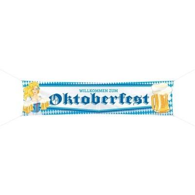 Foto van Oktoberfest straatbanner