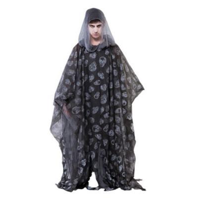 Foto van Halloween poncho zwart