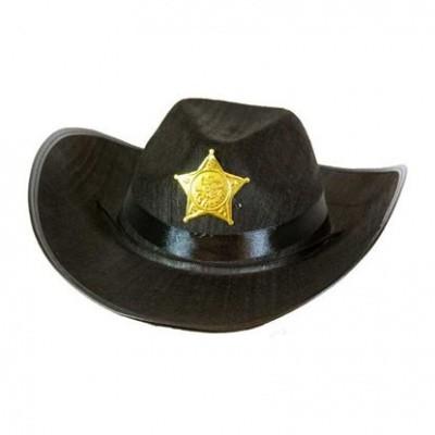 Foto van Sheriff hoed kind