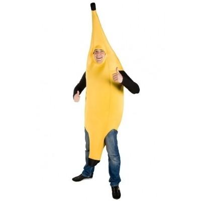 Foto van Bananenpak volwassen kostuum
