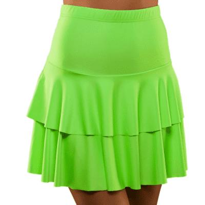 Foto van Neon rokje groen