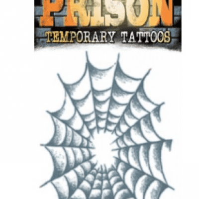 Prison Tattoo Spinnenweb/Web