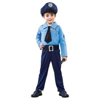 Foto van Politie pak kind gespierd
