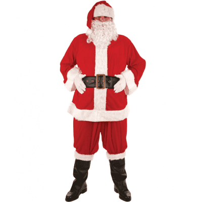 Foto van Kerstman kostuum luxe