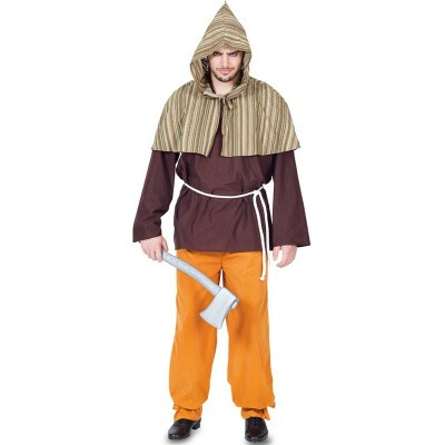 Foto van Middeleeuws beul kostuum