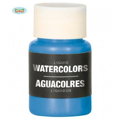 Foto van Body paint op waterbasis - blauw