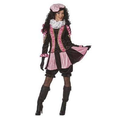 Foto van Fancy piet pietenpak dames rose/zwart