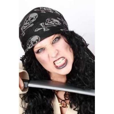 Foto van Hoofddoek piraat zwart