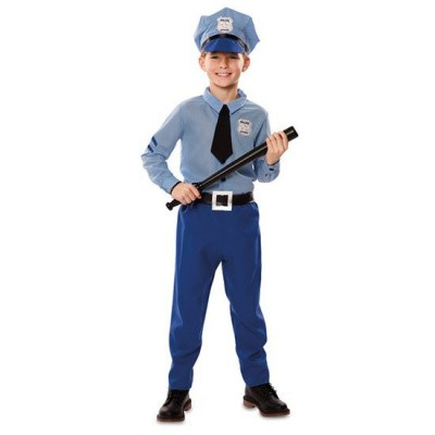 Foto van Politie uniform kind