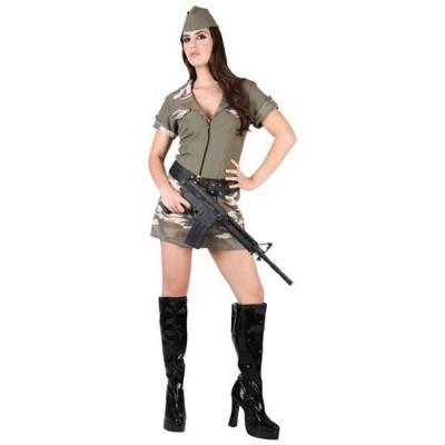 Foto van Militair kostuum dames