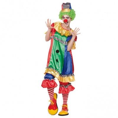 Foto van Clownskostuum dames