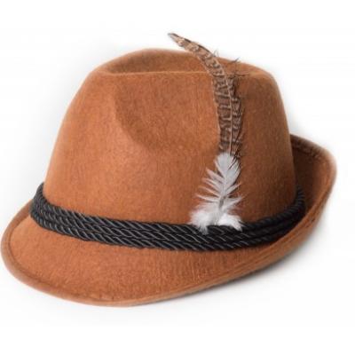 Foto van Tiroler hoed bruin