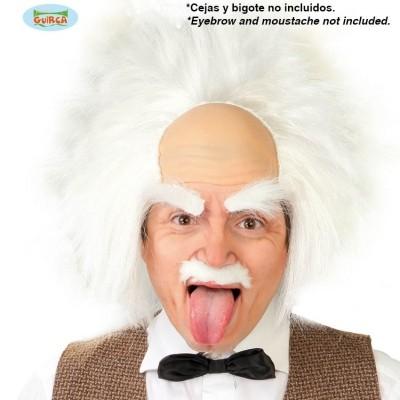 Foto van Einstein pruik