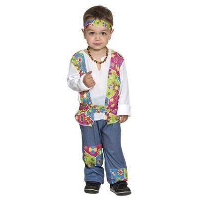 Foto van Hippie jongen kostuum