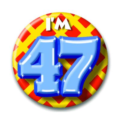 Foto van Button 47 jaar