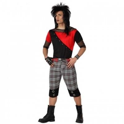 Foto van Punk man volwassen kostuum
