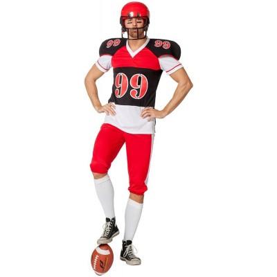 Foto van American Football kostuum Luxe