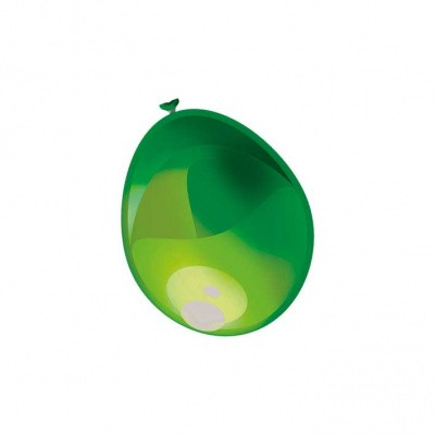 Foto van Ballonnen Metallic Limoengroen 50st