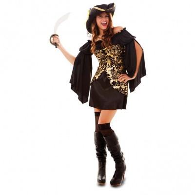 Foto van Piraten jurkje - Goud