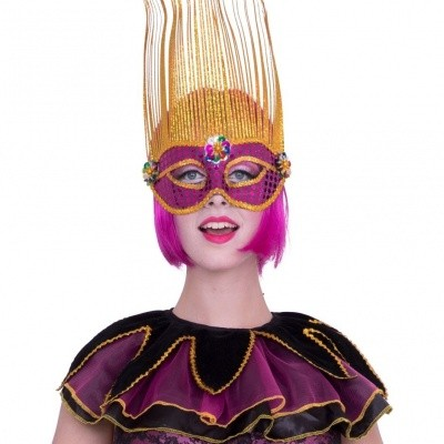 Foto van Circus kraag roze