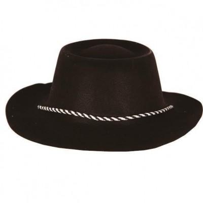Foto van Cowboyhoed plastic zwart