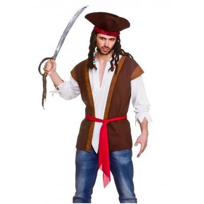 Foto van Piraten - blouse met gilet