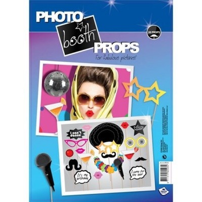 Photo booth props party (20 stuks)