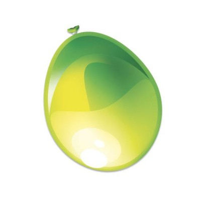 Ballonnen Parel Appelgroen 50st