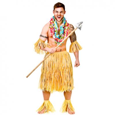 Foto van Hawaii kostuum