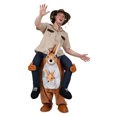Foto van Carry me kostuum kangaroo