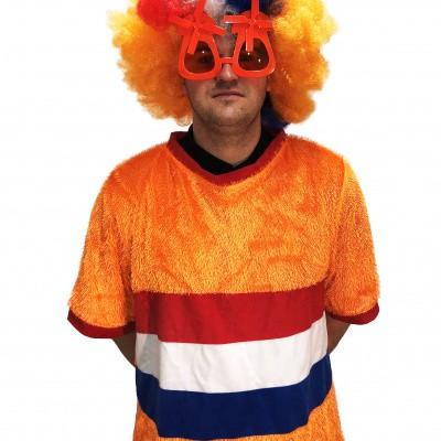Foto van Oranje T-shirt Nederlandse vlag