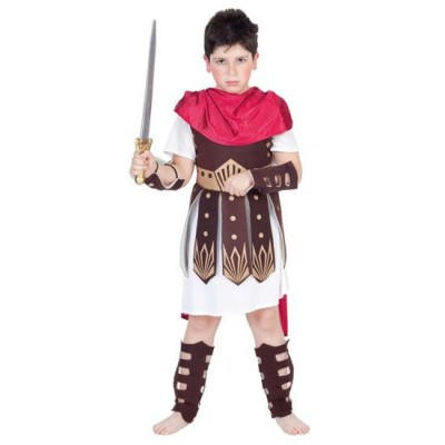 Foto van Romeinse soldaat kostuum kind