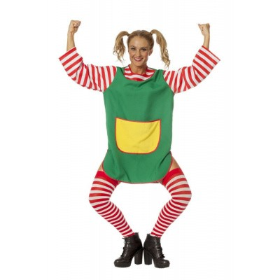Pippi Langkous kostuum - Luxe