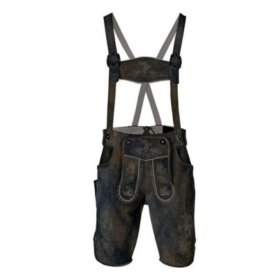 Foto van Lederhosen faded grey