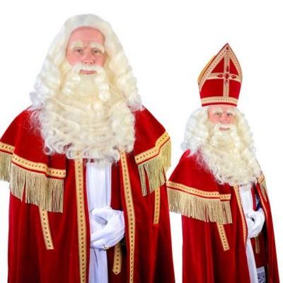 Foto van Sinterklaas baard TV-Sint buffel(Yak)deluxe tule 34.106