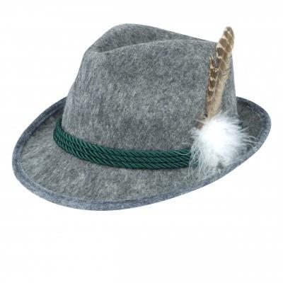 Bayern hoed grijs luxe