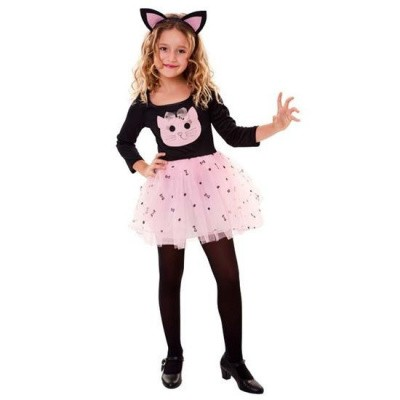 Foto van Katten kostuum meisje