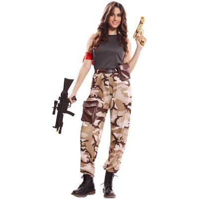 Foto van Fortnite kostuum - Soldaat dames