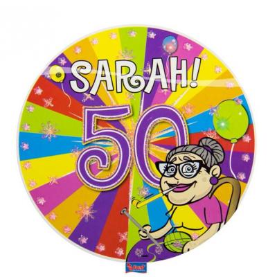 Button Sarah met led