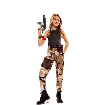 Foto van Fortnite kostuum kind - Soldaat meisje