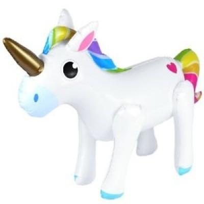 Foto van Opblaas Unicorn 53 cm