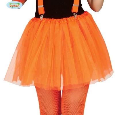 Tiroler onderrok oranje
