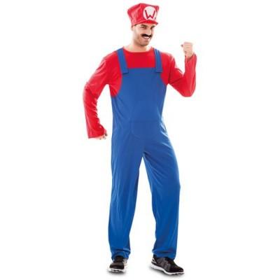 Foto van Mario kostuum man
