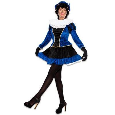 Foto van Pietjurkje met petticoat blauw