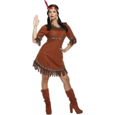 Foto van Indianen jurk Pocahontas