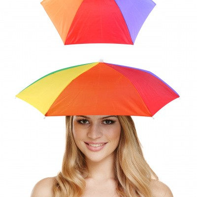 Foto van Hoofd paraplu