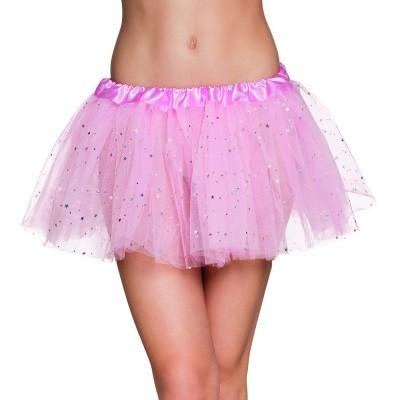 Foto van Licht roze tutu met glitters