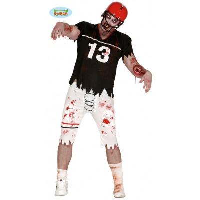 Foto van Rugby kostuum zombie