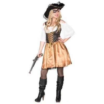 Foto van Piraten jurkje goud